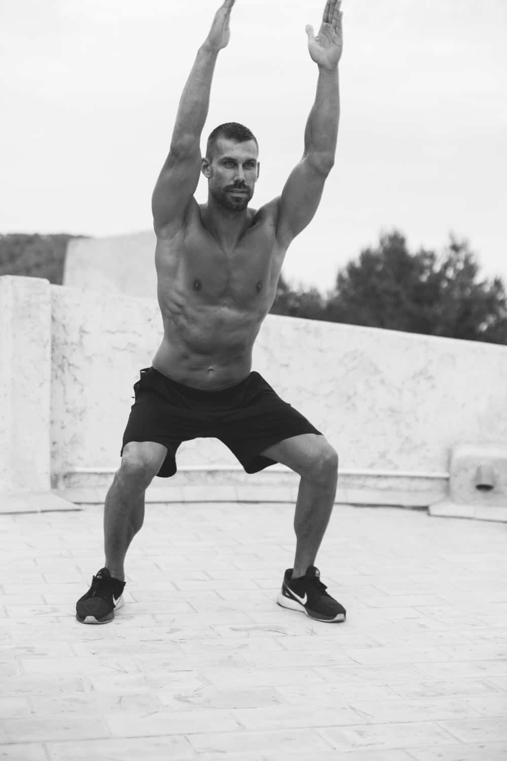Weight loss training on Ibiza - Best exercises by a certified trainer to lose your weight